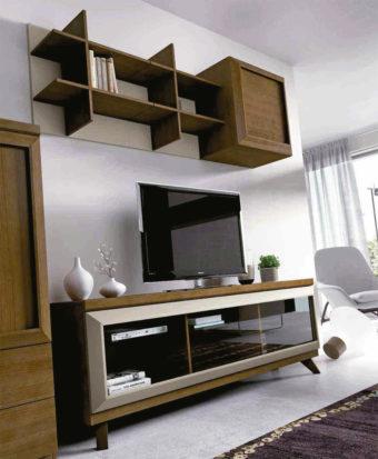Un salón moderno y acogedor